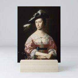 John Singleton Copley - Mrs Samuel Quincy (Hannah Hill) Mini Art Print