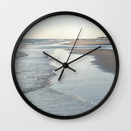 Amrum Beach Wall Clock