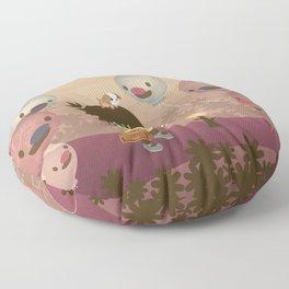 Balloon Tree Song Floor Pillow