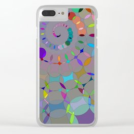 ChromaSwirl Clear iPhone Case