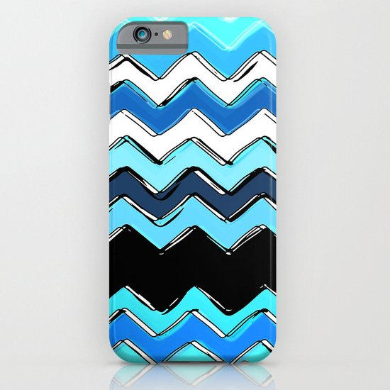 ocean chevron iPhone & iPod Case