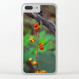 Dangling the Day Away Clear iPhone Case