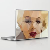 background Laptop & iPad Skins featuring Monroe. by David