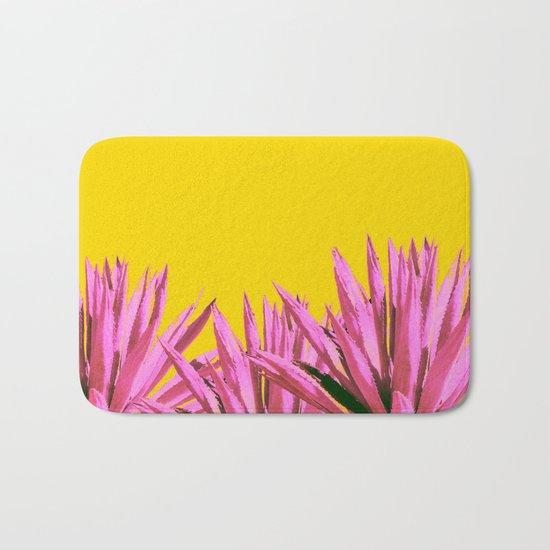 Pop art agave Bath Mat