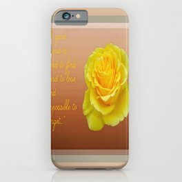 A Good Friend Is Hard To Find and Hard To Lose Greeting  iPhone Case