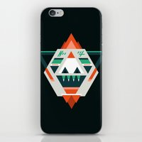 sasquatch iPhone & iPod Skins featuring Sasquatch boss by Samuel Boucher