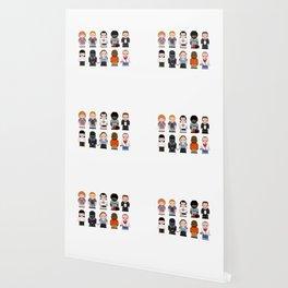 Pixel Pulp Fiction Characters Wallpaper