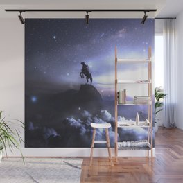 Whisper to the dark what you're up to ... Wall Mural