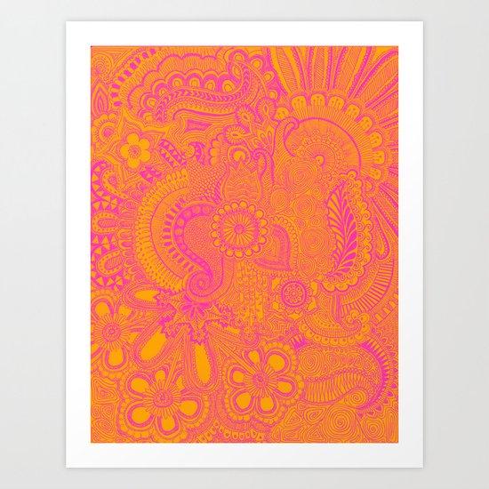 millions  Art Print
