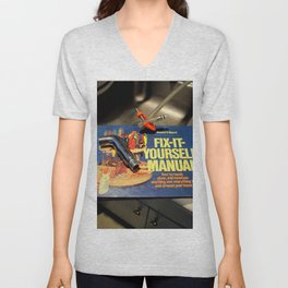 I Get By With A Little Help Unisex V-Neck