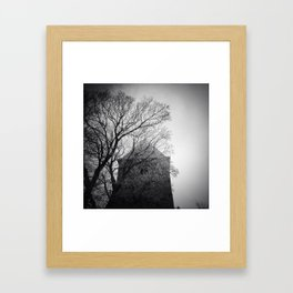 Icy Tree Framed Art Print