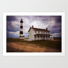 Bodie Lighthouse III Art Print