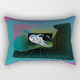 corrupted memory Rectangular Pillow