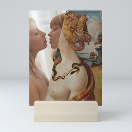 Serpentine Kiss Mini Art Print