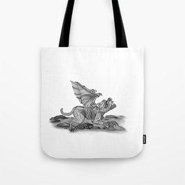 Golem - Gargoyle  Tote Bag