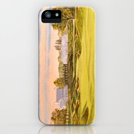 Whistling Straits Golf Course 9th And 18th iPhone Case