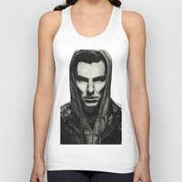 benedict cumberbatch Tank Tops featuring Benedict Cumberbatch by Charlotte Hussey