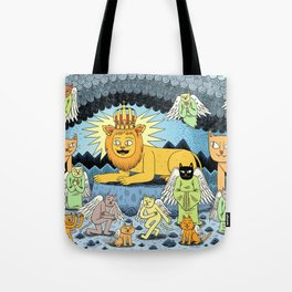 Rebirth of the King Tote Bag