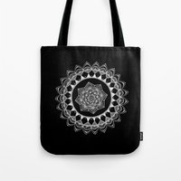 introvert Tote Bags featuring The Introvert by JWRIGGS