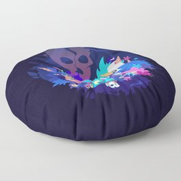 Fox of the Magic forest Floor Pillow