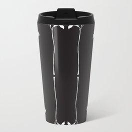 COLOUR ME FLOWER Metal Travel Mug