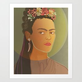 Frida / Stay Wild Collection Art Print