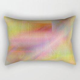 Abstract texture Rainbow colors Rectangular Pillow