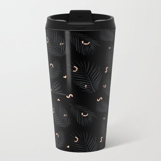 Ghostly Tropics Metal Travel Mug