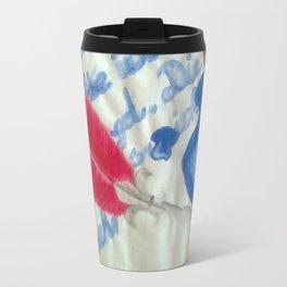 Letter Travel Mug