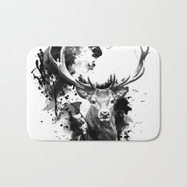 Once upon a Stag Bath Mat