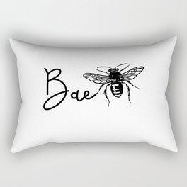 BAE Bee Baby Pun Love Rectangular Pillow