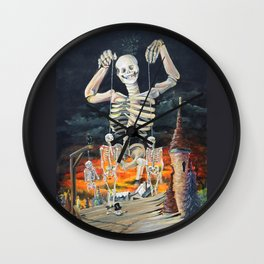 Eddy Wall Clock