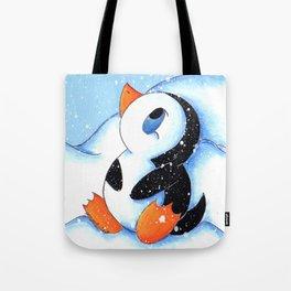 Antarctic Flurry Tote Bag