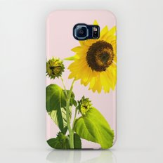 Sun Flower || #society6 #decor #buyart Slim Case Galaxy S7