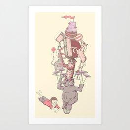 Unimpressed Art Print