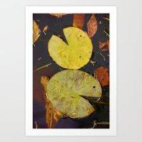 Pac-Pond Art Print