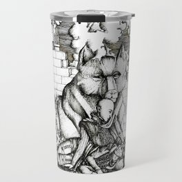 Lovers in the ruins Travel Mug