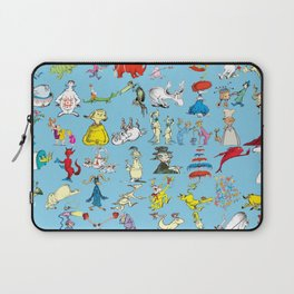 Dr. Seuss Characters Laptop Sleeve