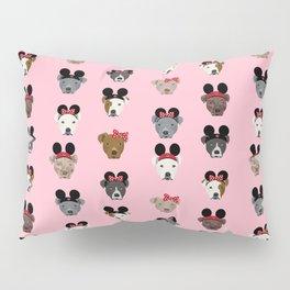 pitbull mouse ears theme park gifts Pillow Sham