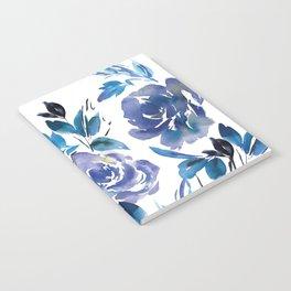 Royal Blue Garden 01 Notebook