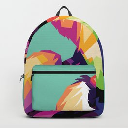 Bird Colorfull Backpack
