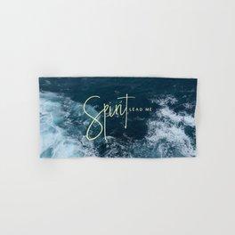 Spirit Lead Me Hand & Bath Towel