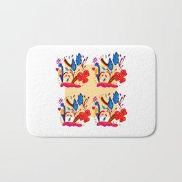 Handmade pattern Bath Mat