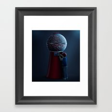 ✩ The Machine Framed Art Print