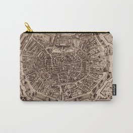 Map Of Milan 1600 Carry-All Pouch