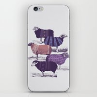sweater iPhone & iPod Skins featuring Cool Sweaters by Jacques Maes