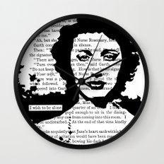 I Wish to be Alone Wall Clock