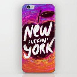 New (fuckin') York iPhone Skin