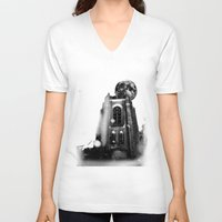 sin city V-neck T-shirts featuring Sin City by kidkyngstyle