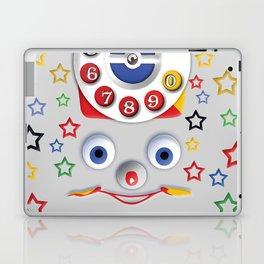 Classic Retro vintage Smiley Toys Dial Phone Laptop & iPad Skin